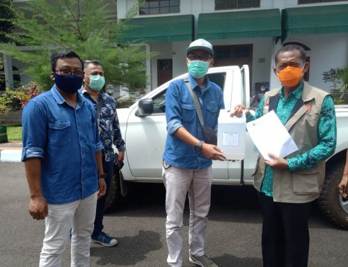 PT SIL mendistribusi Hand Sanitizer kepada Pemkab. Subang