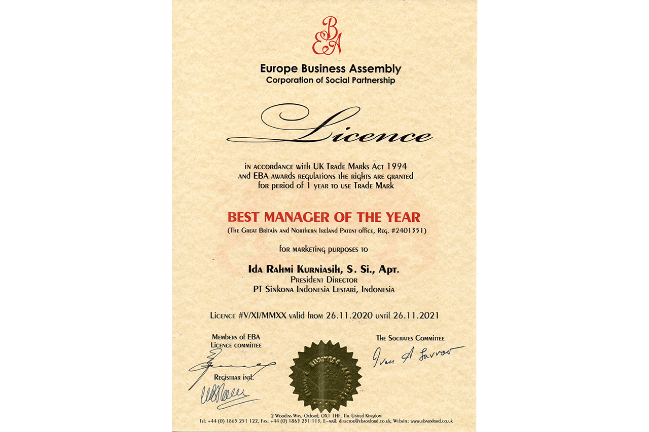 Best Manager of The Year europa business assembly